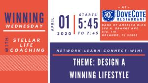 Winning Wednesday - Meaningful Networking- April @ DoveCote   Orlando   Florida   United States